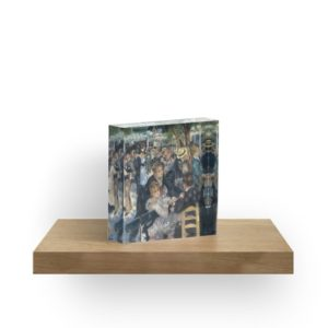 Bal du Moulin de la Galette Oil Painting by Auguste Renoir Acrylic Blocks