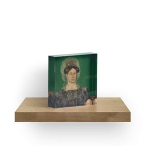 Eliza R. Read Oil Painting by Royall Brewster Smith Acrylic Blocks