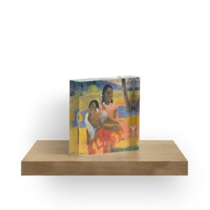 Affordable Art $300,000,000 When Will You Marry by Paul Gauguin Acrylic Blocks