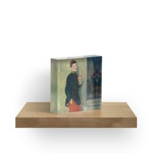 The Young Soldier oil Painting by Auguste Renoir Acrylic Blocks