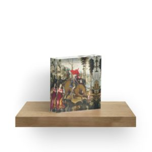 Saint George and the Dragon Oil Painting by Sodoma Acrylic Blocks