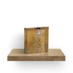 Adele Bloch Bauer by Gustav Klimt Acrylic Blocks