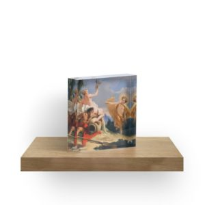 Oil Painting Apollo Pursuing Daphne by Giovanni Battista Tiepolo Acrylic Blocks