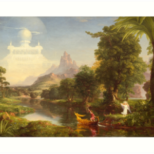 The Voyage of Life Youth Painting by Thomas Cole Art Prints