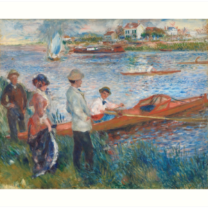 Oarsmen at Chatou Painting by Auguste Renoir Art Prints
