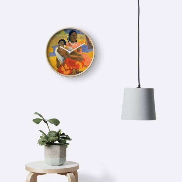 Affordable Art $300,000,000 When Will You Marry by Paul Gauguin Clocks