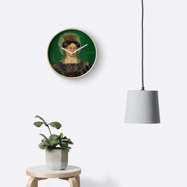 Eliza R. Read Oil Painting by Royall Brewster Smith Clocks