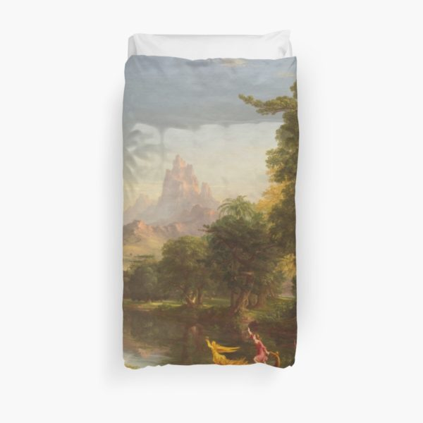 The Voyage of Life Youth Painting by Thomas Cole Duvet Covers