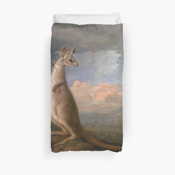 The Kongouro Oil Painting by Australian Artist George Stubbs Duvet Covers