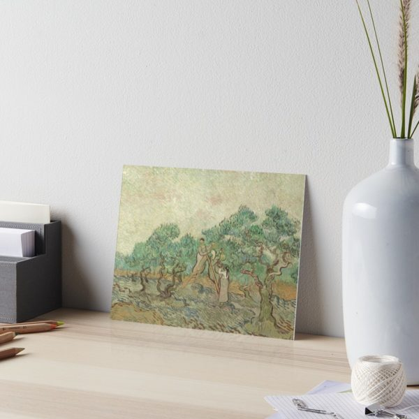 The Olive Orchard by Vincent van Gogh - Classic Art Art Boards