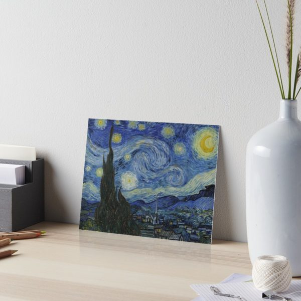 Starry Night Oil painting by Vincent van Gogh Art Boards