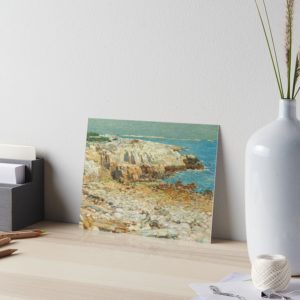 A North East Headland Oil Painting by Childe Hassam Art Boards