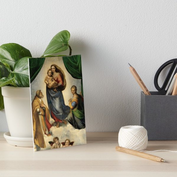 The Sistine Madonna Oil Painting by Raphael Art Boards