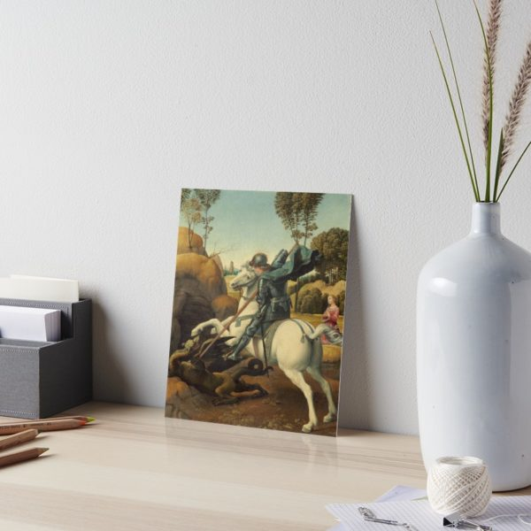 Saint George and the Dragon Oil Painting By Raphael Art Boards