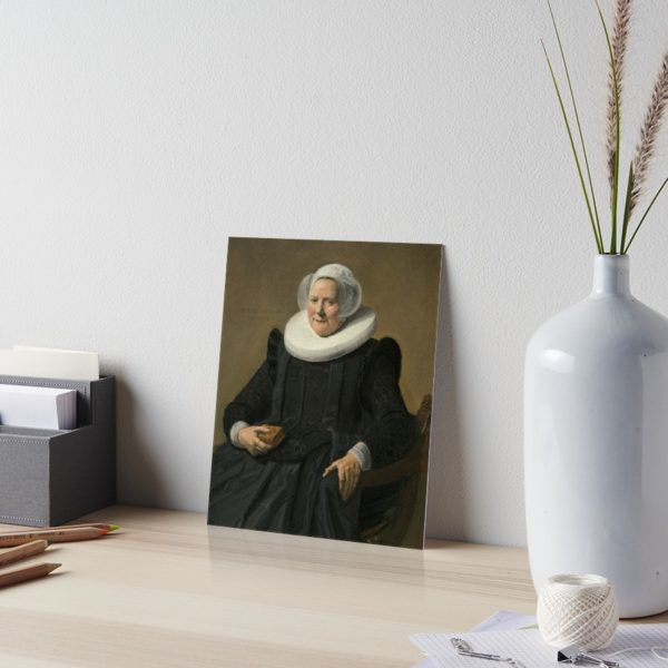 Portrait of an Elderly Oil Painting Lady by Frans Hals Art Boards