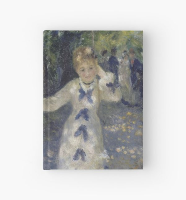 The Swing Oil Painting by Auguste Renoir Hardcover Journals