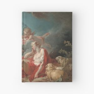 Diana and Endymion Oil Painting by Jean-Honoré Fragonard Hardcover Journals