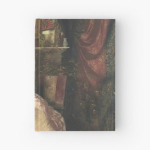 The Proposal Oil Painting by Knut Ekwall Hardcover Journals
