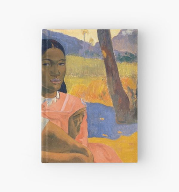 Affordable Art $300,000,000 When Will You Marry by Paul Gauguin Hardcover Journals