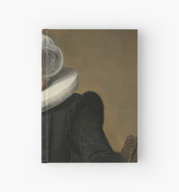 Portrait of an Elderly Oil Painting Lady by Frans Hals Hardcover Journals