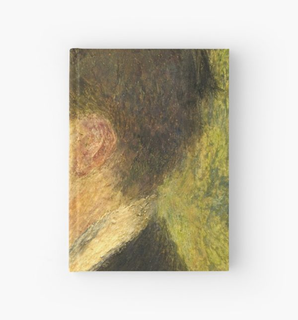 Georges Rivière Oil Painting by Auguste Renoir Hardcover Journals