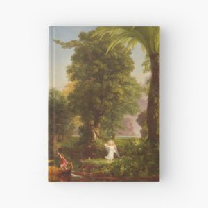 The Voyage of Life Youth Painting by Thomas Cole Hardcover Journals