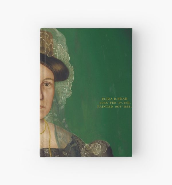 Eliza R. Read Oil Painting by Royall Brewster Smith Hardcover Journals