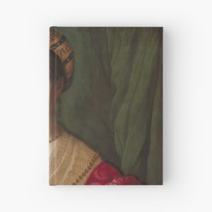 A Young Woman and Her Little Boy Oil Painting by Agnolo Bronzino Hardcover Journals