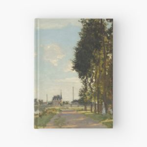 Argenteuil by Claude Monet Hardcover Journals