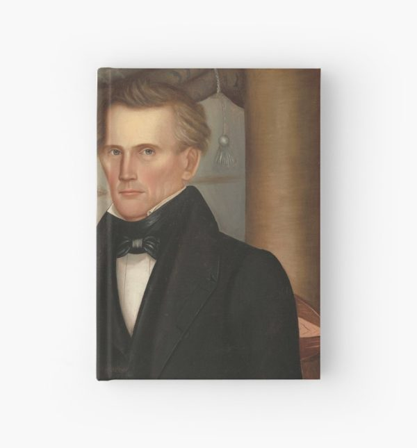 Vermont Lawyer Oil Painting by Horace Bundy Hardcover Journals