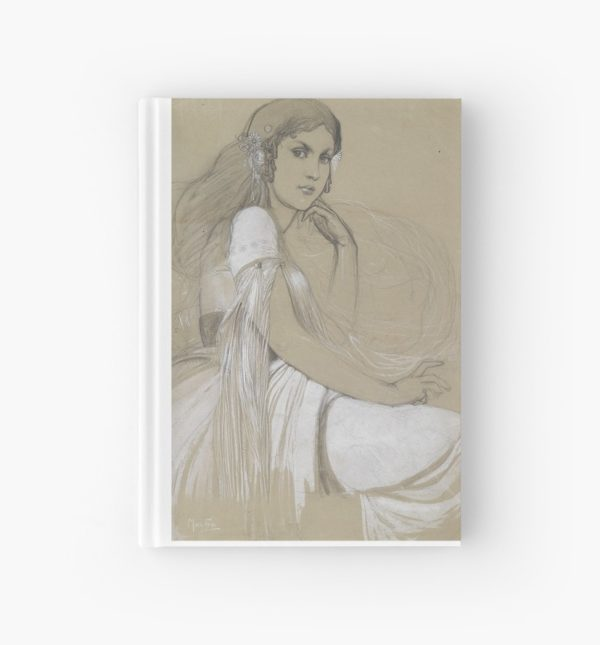 The artists daughter by Jaroslava Drawing Hardcover Journals