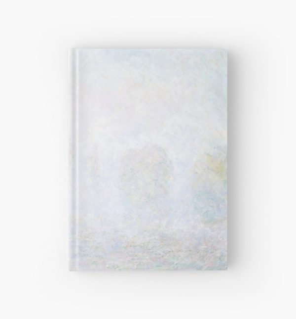 Morning Haze by Claude Monet Hardcover Journals