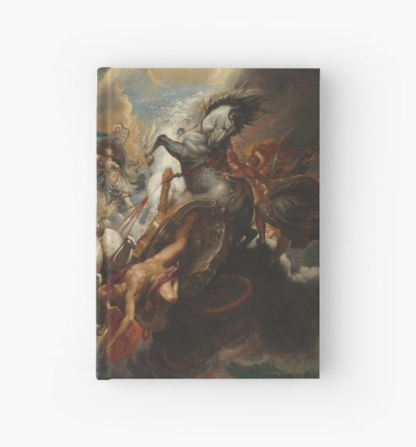 The Fall of Phaeton Oil Painting by Sir Peter Paul Rubens Hardcover Journals