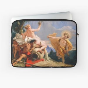 Oil Painting Apollo Pursuing Daphne by Giovanni Battista Tiepolo Laptop Sleeves
