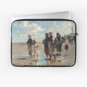 Setting Out to Fish Oil Painting by John Singer Sargent Laptop Sleeves