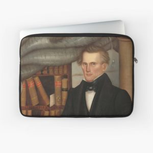 Vermont Lawyer Oil Painting by Horace Bundy Laptop Sleeves