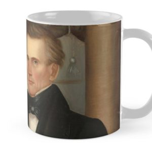 Vermont Lawyer Oil Painting by Horace Bundy Mugs