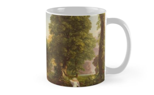 The Voyage of Life Youth Painting by Thomas Cole Mugs