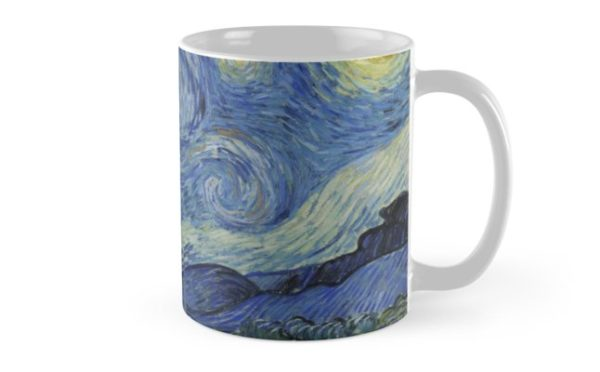 Starry Night Oil painting by Vincent van Gogh Mugs