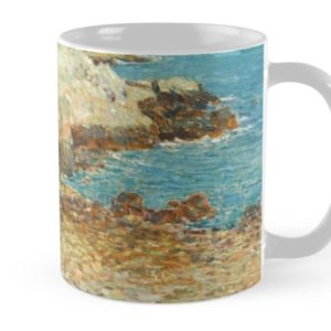 A North East Headland Oil Painting by Childe Hassam Mugs
