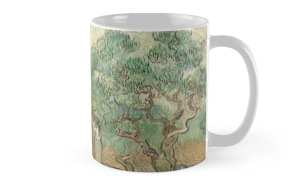 The Olive Orchard by Vincent van Gogh - Classic Art Mugs