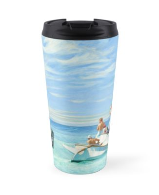 Ground Swell Oil Painting by Edward Hopper Travel Mugs
