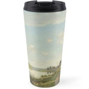 Argenteuil by Claude Monet Travel Mugs
