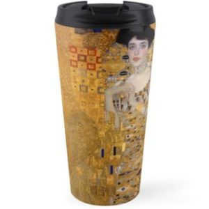 Adele Bloch Bauer by Gustav Klimt Travel Mugs