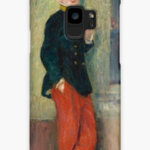 The Young Soldier oil Painting by Auguste Renoir Cases & Skins for Samsung Galaxy