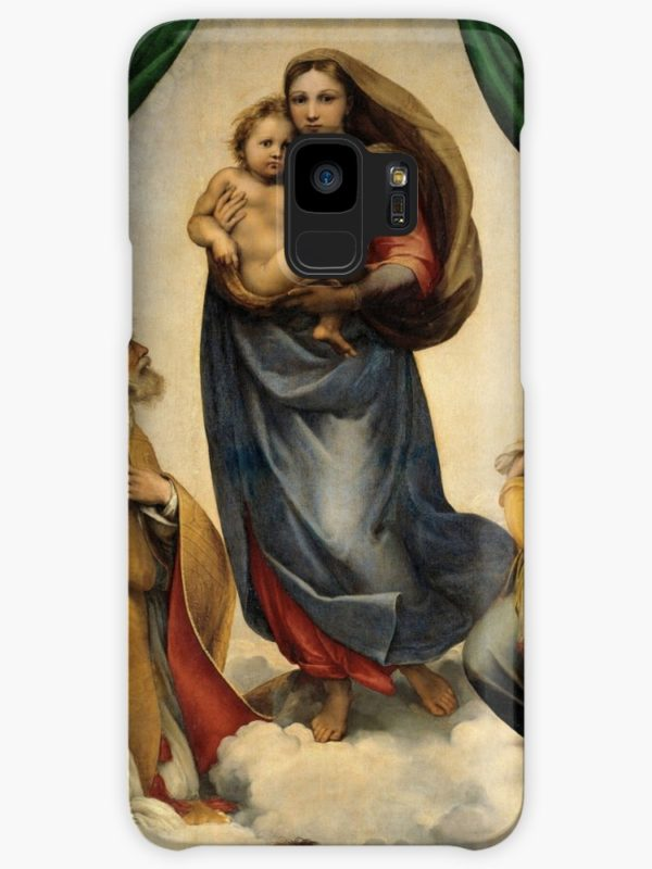 The Sistine Madonna Oil Painting by Raphael Cases & Skins for Samsung Galaxy