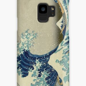 The Classic Japanese Great Wave off Kanagawa by Hokusai Cases & Skins for Samsung Galaxy
