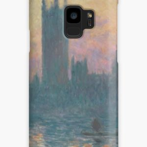 The Houses of Parliament  Sunset by Claude Monet Cases & Skins for Samsung Galaxy