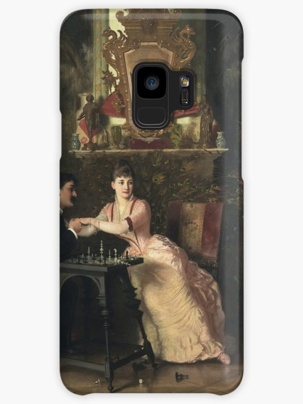 The Proposal Oil Painting by Knut Ekwall Cases & Skins for Samsung Galaxy