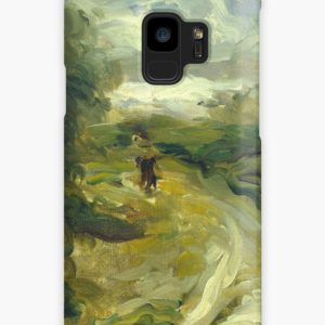 Landscape Between Storms Oil Painting by Auguste Renoir Cases & Skins for Samsung Galaxy